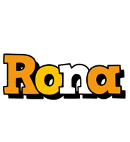 Rona cartoon logo