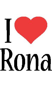 Rona i-love logo