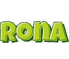 Rona summer logo