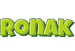 Ronak summer logo