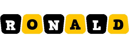 Ronald boots logo