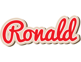 Ronald chocolate logo