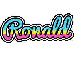 Ronald circus logo