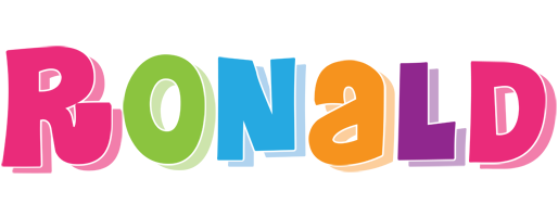 Ronald friday logo