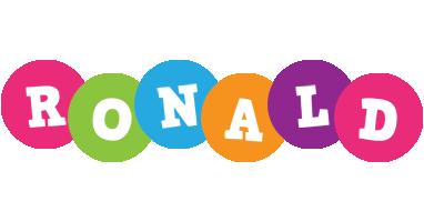 Ronald friends logo