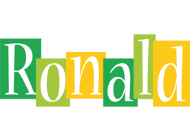 Ronald lemonade logo