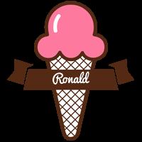 Ronald premium logo