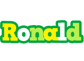 Ronald soccer logo
