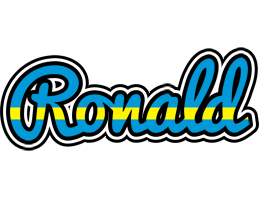 Ronald sweden logo