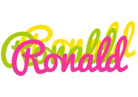 Ronald sweets logo