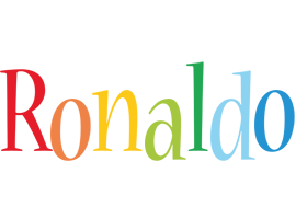 Ronaldo birthday logo