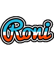 Roni america logo