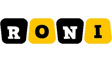 Roni boots logo
