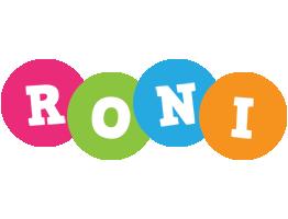 Roni friends logo