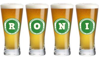 Roni lager logo