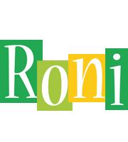 Roni lemonade logo