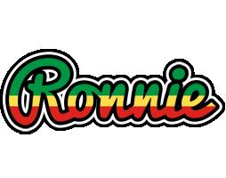 Ronnie african logo