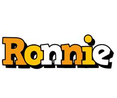 Ronnie cartoon logo