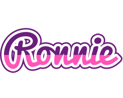 Ronnie cheerful logo