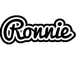Ronnie chess logo