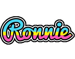 Ronnie circus logo