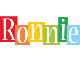 Ronnie colors logo
