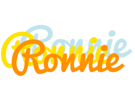 Ronnie energy logo