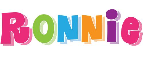 Ronnie friday logo
