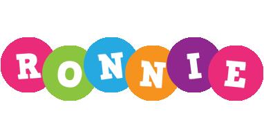 Ronnie friends logo