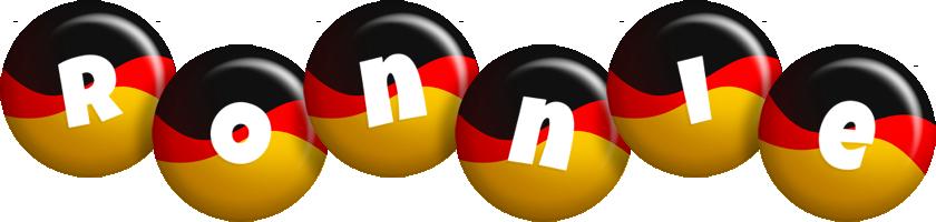 Ronnie german logo