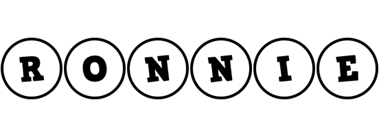 Ronnie handy logo
