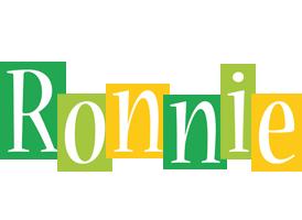Ronnie lemonade logo