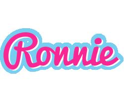 Ronnie popstar logo