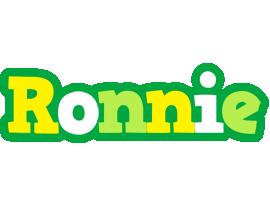 Ronnie soccer logo