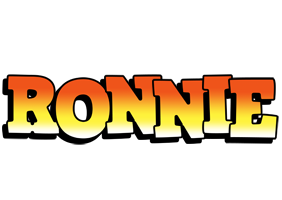 Ronnie sunset logo