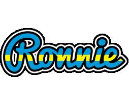 Ronnie sweden logo