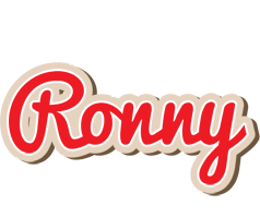 Ronny chocolate logo