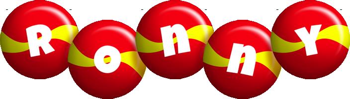 Ronny spain logo
