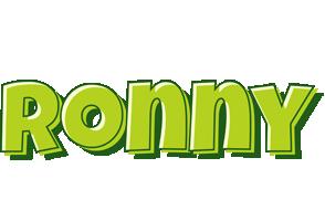 Ronny summer logo