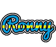 Ronny sweden logo