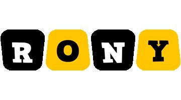 Rony boots logo