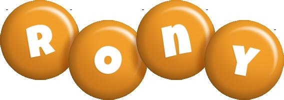 Rony candy-orange logo