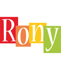 Rony colors logo
