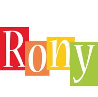 Rony colors logo