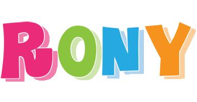 Rony friday logo