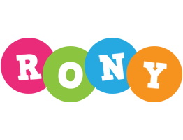 Rony friends logo