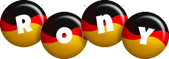 Rony german logo