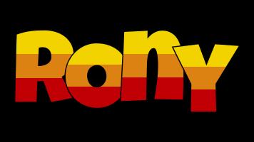 Rony jungle logo
