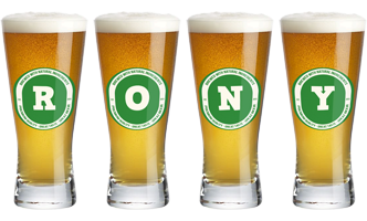 Rony lager logo