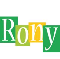 Rony lemonade logo